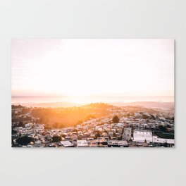 San Francisco Sunrise Canvas Print
