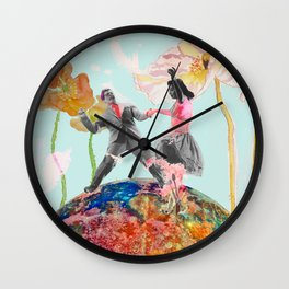 Made in hollywood Wall Clock