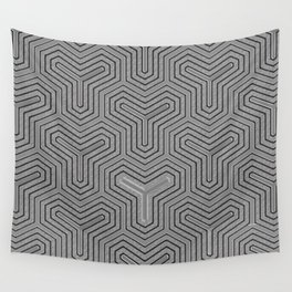 Odd one out Geometric Wall Tapestry