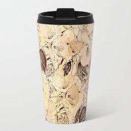 pattern Flowers Travel Mug