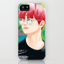 Chic TaeHyung - BTS iPhone Case