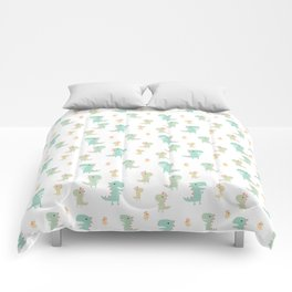 Evolution of a Chicken Pattern Comforters