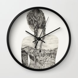 All That Is Left Is The Trace Of A Memory Wall Clock