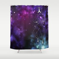 avatar Shower Curtains featuring the avatar state by Chiaris