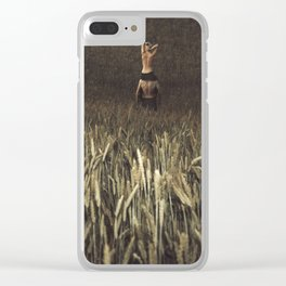 Right Direction Clear iPhone Case
