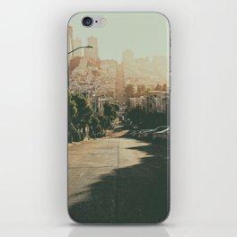 San Francisco-The Hills iPhone Skin