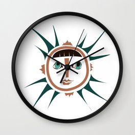 Elments-Fire/Sun Wall Clock