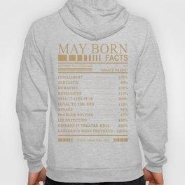 MAY BORN FACTS! Hoody