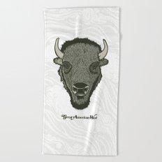 Great American West Beach Towel