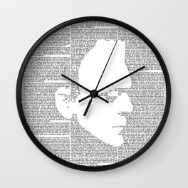 Frankenstein - The Modern Prometheus Wall Clock