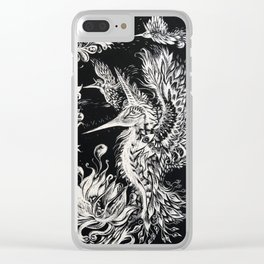 Birds of Paradise - Art by Lana Chromium Clear iPhone Case
