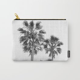 Monochrome California Palms Carry-All Pouch