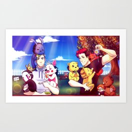The Treasure that I hold - Markiplier, Jacksepticeye and FNAF Art Print