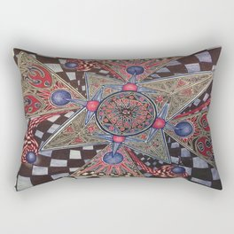 Homeless Ball Point Universe Rectangular Pillow