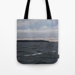 Waves of Grey Tote Bag