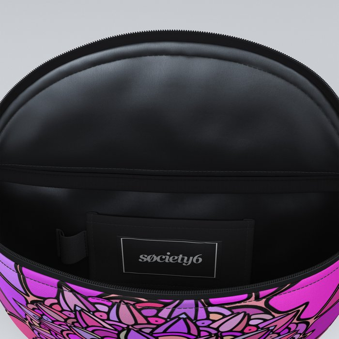 Mandala Pink Peach Purple Fanny Pack
