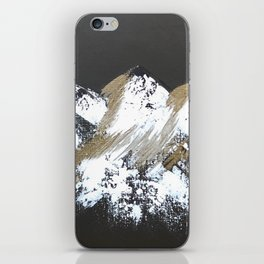 Gold Mountains iPhone Skin
