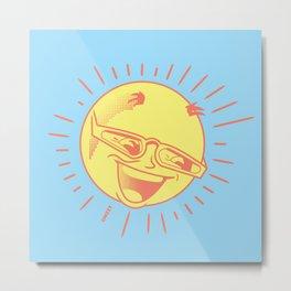 MR SUN Metal Print