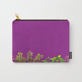 Indoor Plant Collection in Magenta II Carry-All Pouch