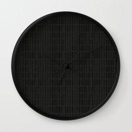 sewing pinstripe Wall Clock