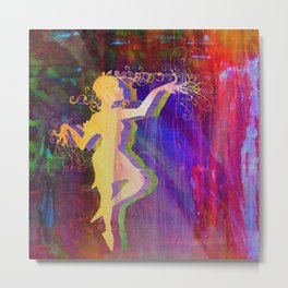 Alice Dancing Darkly (edit3) Metal Print