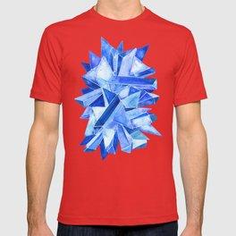Sapphire Watercolor Facets T-shirt