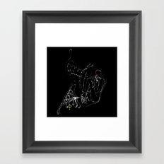 In Silence v2 Framed Art Print