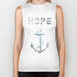 Hope Anchor Biker Tank