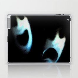 comedy and tragedy redux 2018 Laptop & iPad Skin
