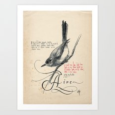 Bird 03 Art Print