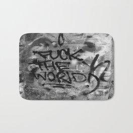 F#%* the World Bath Mat
