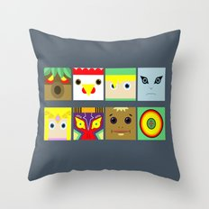 ZELDA GAME Throw Pillow