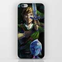 sword iPhone & iPod Skins featuring Skyward Sword by EB & JJ