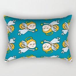 angel girl show a star Rectangular Pillow