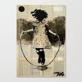 dancing with gravity Canvas Print