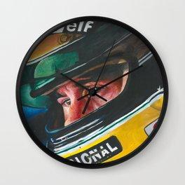 Ayrton Senna Wall Clock