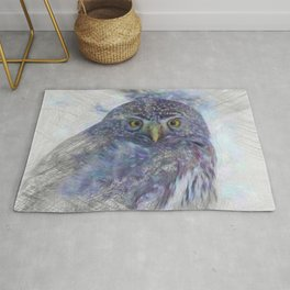 Artistic Animal Owl Rug