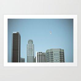 Los Angeles Balloon Art Print
