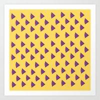 Tri-Yellow Art Print