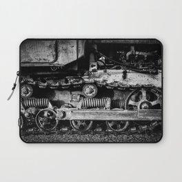 Vintage Caterpillar Tracks Laptop Sleeve