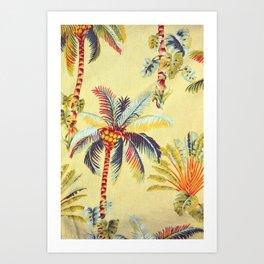 Hawaiian Linen Art Print