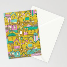 Pattern Project #2 / Happy Town Stationery Cards