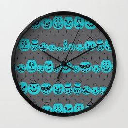 Trick or Treat Smell My Feet- Teal Pumpkin Project Wall Clock