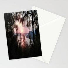 Solemn Sunset  Stationery Cards