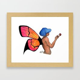 Ease Framed Art Print