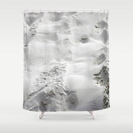 White Sand Shower Curtain