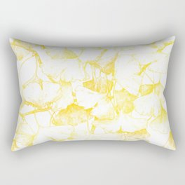 Ginkgo biloba (Autumn gold) Rectangular Pillow