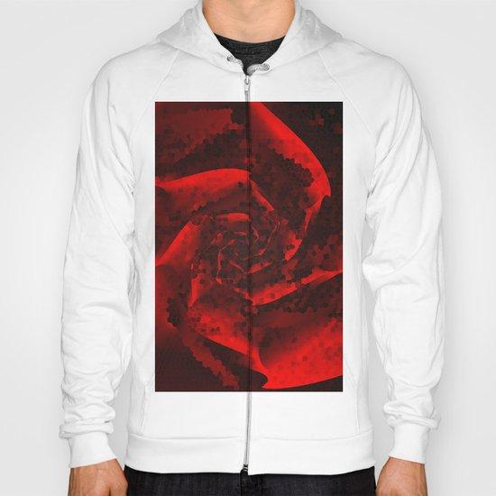 Red Rose Mosaic Hoody