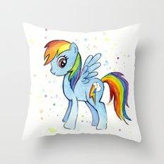 Rainbow Dash MLP Pony Throw Pillow