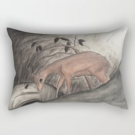 Deer Hunter Rectangular Pillow
